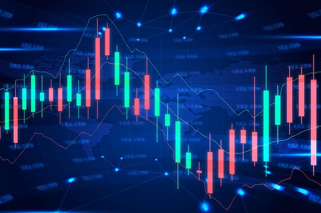 Tapeta Na Rynku Forex Premium Wektorów