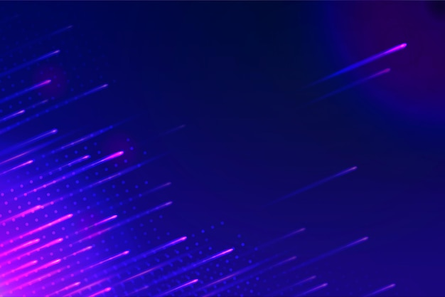 Tapeta W Abstrakcyjne Neony Premium Wektorów