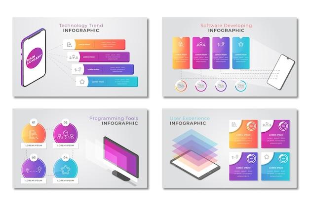 Technologia Infograficzna Darmowych Wektorów