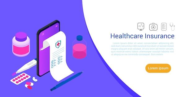 Technologia Opieki Zdrowotnej Medycyny Izometrycznej. Premium Wektorów
