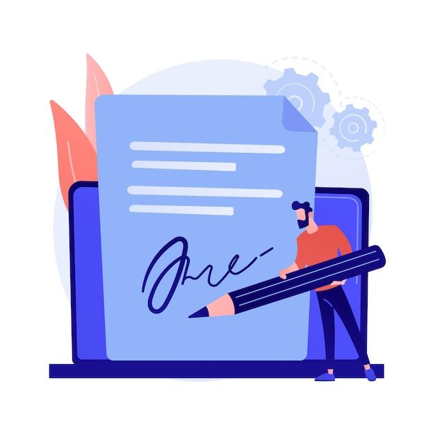 Technologia Podpisu Elektronicznego. Walidacja Operacji, Podpis Cyfrowy, Weryfikacja Dokumentów Elektronicznych. Wirtualne Potwierdzenie Umowy. Darmowych Wektorów