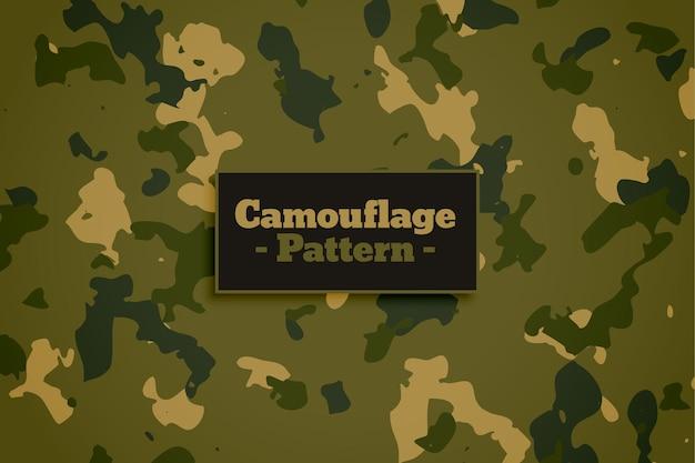 Tekstura Tkaniny W Stylu Kamuflażu Wojskowego Armii Darmowych Wektorów