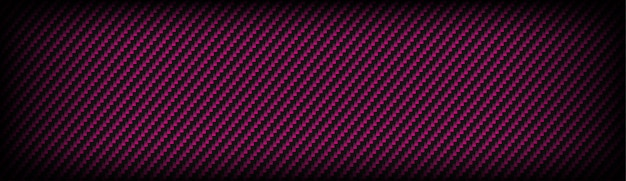 Tekstura włókna węglowego kevlaru z różowym i ciemnoszarym tłem Premium Wektorów