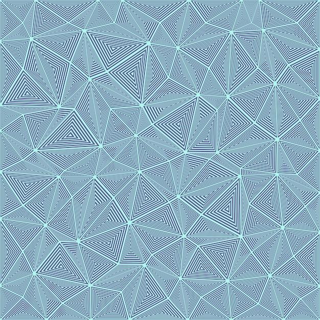 Tła Rozłożony Trójkąt Puzzle Mozaiki Darmowych Wektorów