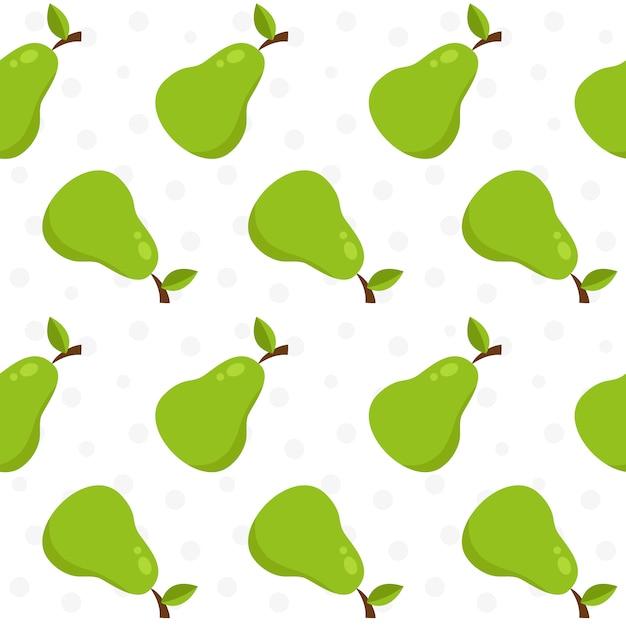Tła Wzoru Pear Darmowych Wektorów