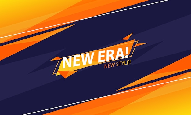 Tło Abstrakcyjne Nowej Ery Premium Wektorów