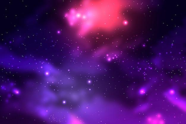 Tło Galaktyki Cząstek Darmowych Wektorów