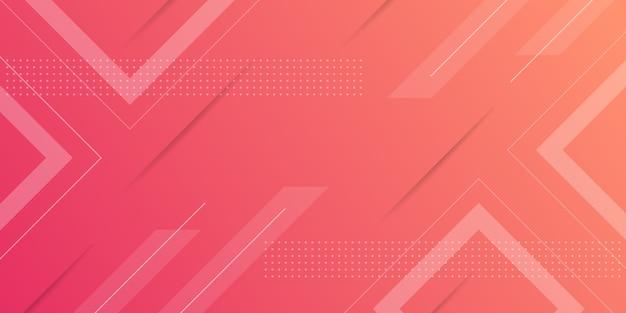 Tło gradientu geometryczny kształt Premium Wektorów