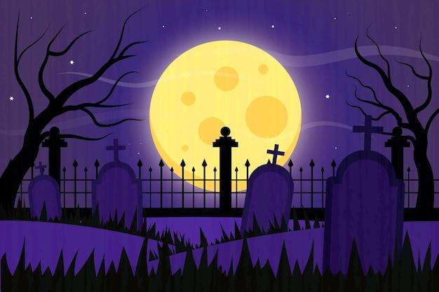 Tło Grunge Halloween Darmowych Wektorów