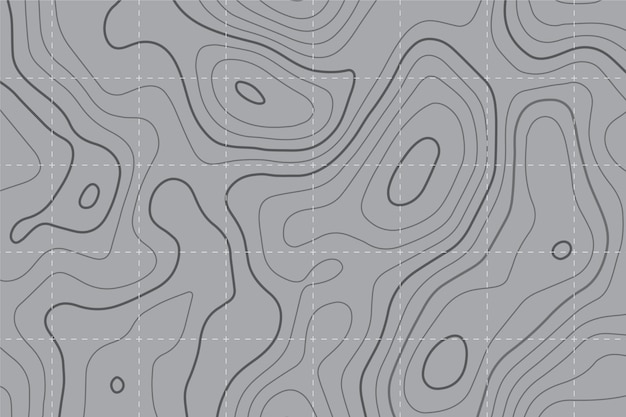 Tło Mapy Topograficznej Premium Wektorów