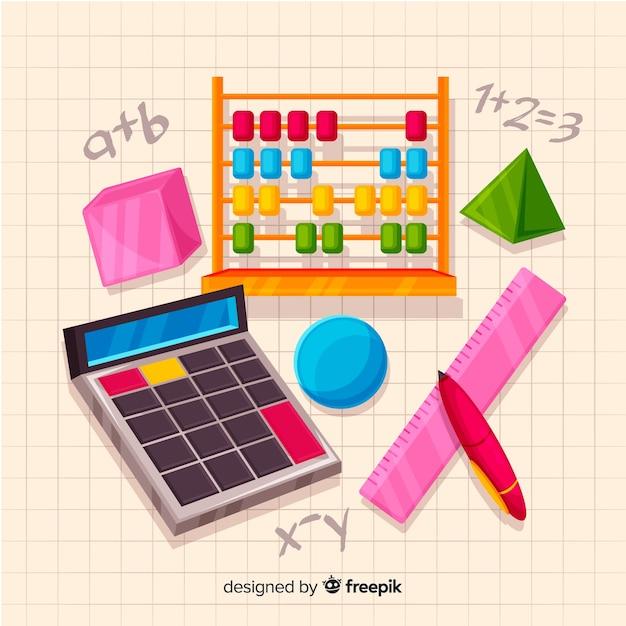 Tło Matematyczne Darmowych Wektorów