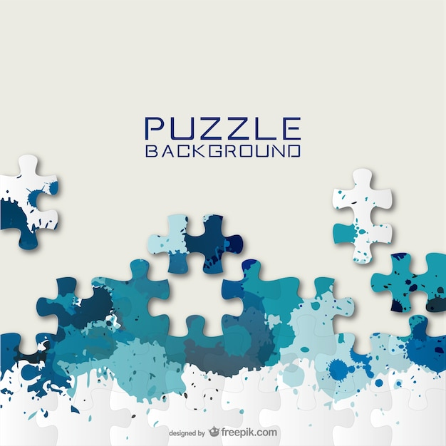 Tło puzzle do pobrania za darmo Darmowych Wektorów