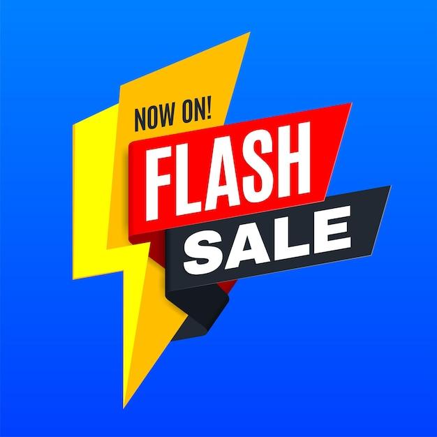 Tło Reklamy Promocji Sprzedaży Flash Premium Wektorów