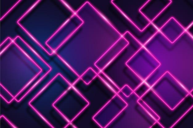 Tło światła Neonowe Darmowych Wektorów