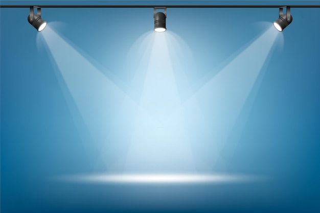 Tło światła Punktowego Premium Wektorów