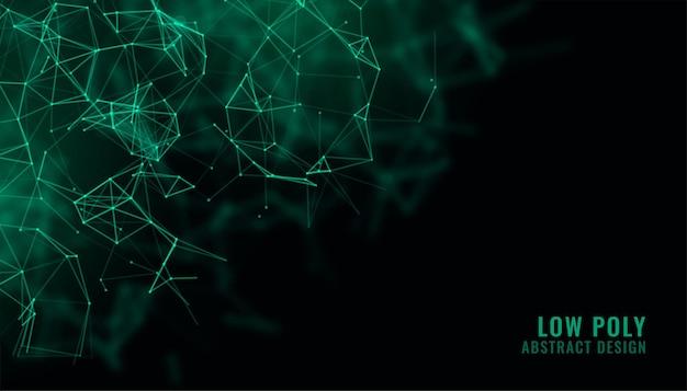 Tło Technologii Cyfrowej Siatki Drucianej Darmowych Wektorów