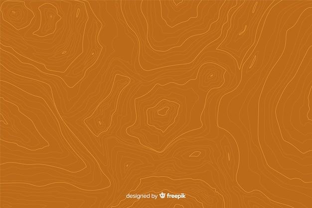 Tło topograficzne linie na pomarańczowe odcienie Darmowych Wektorów
