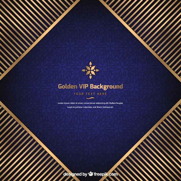 Tło Vip Ze Złotymi Pasami Darmowych Wektorów