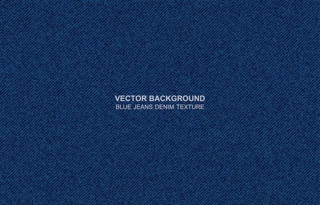 Tło wektor niebieskie dżinsy denim tekstury Premium Wektorów