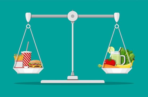 Tłusty Cholesterol A Witaminy W żywności Premium Wektorów