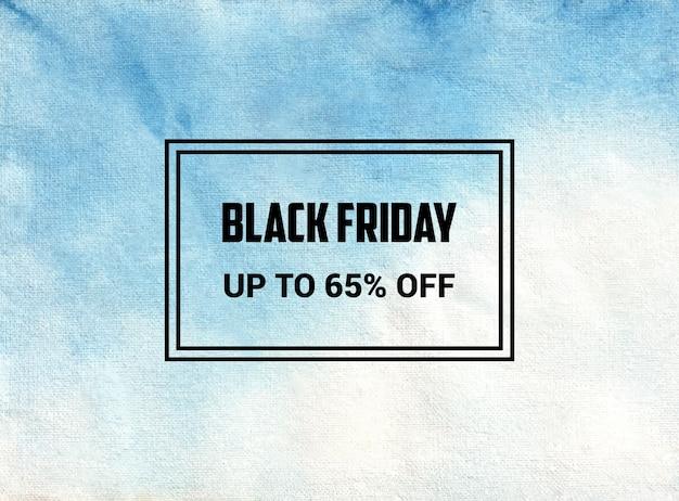 To Jest Czarny Piątek Abstrakcyjny Wzór Tekstury Tła Akwarela #blackfriday Premium Wektorów