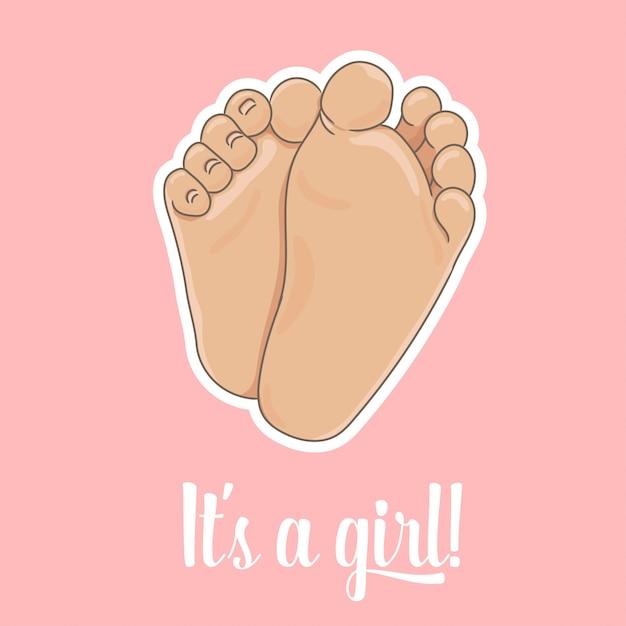 To Jest Karta Ogłoszenia Dziewczyny Premium Wektorów