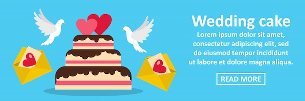 Tort Weselny Transparent Poziomy Koncepcja Premium Wektorów