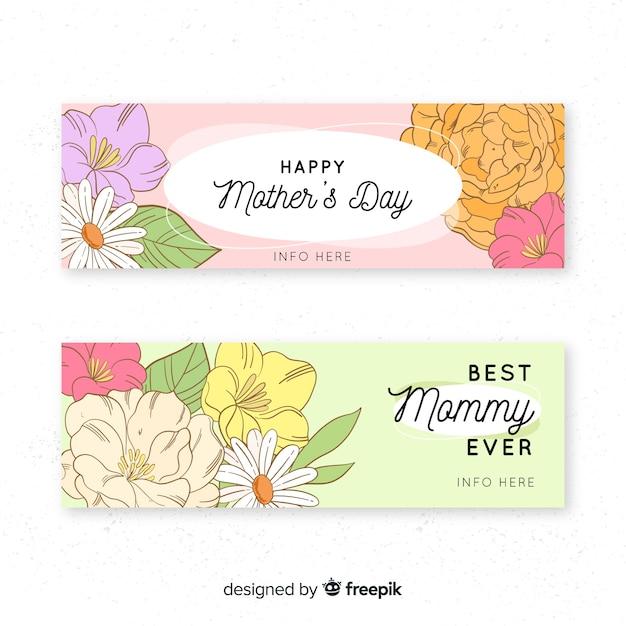 Transparent Dzień Matki Kwiat Bukiet Darmowych Wektorów