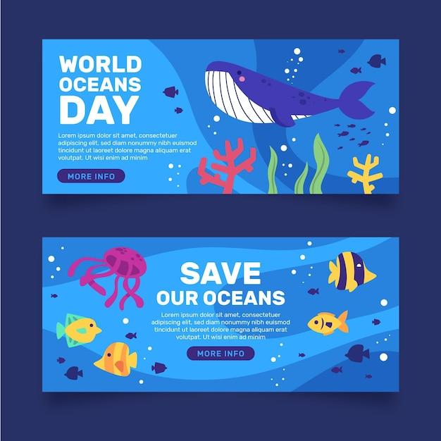 Transparent Dzień Ryb I Oceanów Wielorybów Darmowych Wektorów