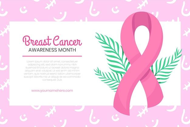 Transparent Miesiąca świadomości Raka Piersi Darmowych Wektorów