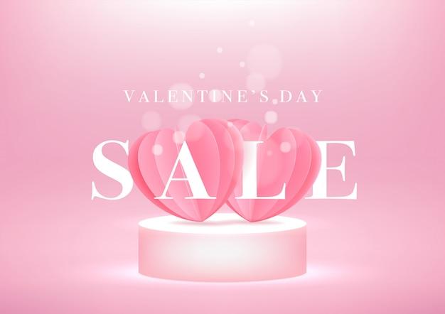 Transparent Sprzedaż Walentynki Premium Wektorów