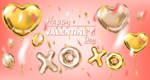 Transparent szczęśliwego valentine Premium Wektorów