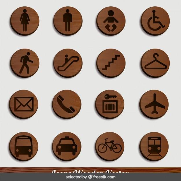 Transport Drewna Signage Darmowych Wektorów