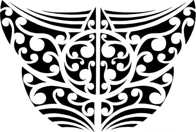 Tribal Tatuaż Abstrakcyjny Wzór Wektor Darmowe Pobieranie