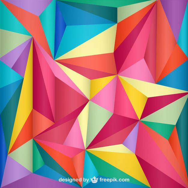 Trójkąt Geometryczne Tle Darmowych Wektorów