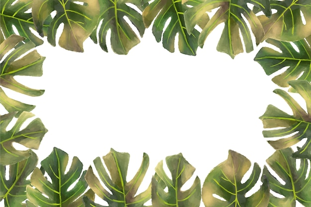 Tropikalna Tapeta ścienna Darmowych Wektorów