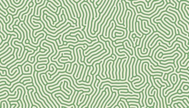 Turing Wzór Struktury Organiczne Linie Tła Projektu Darmowych Wektorów
