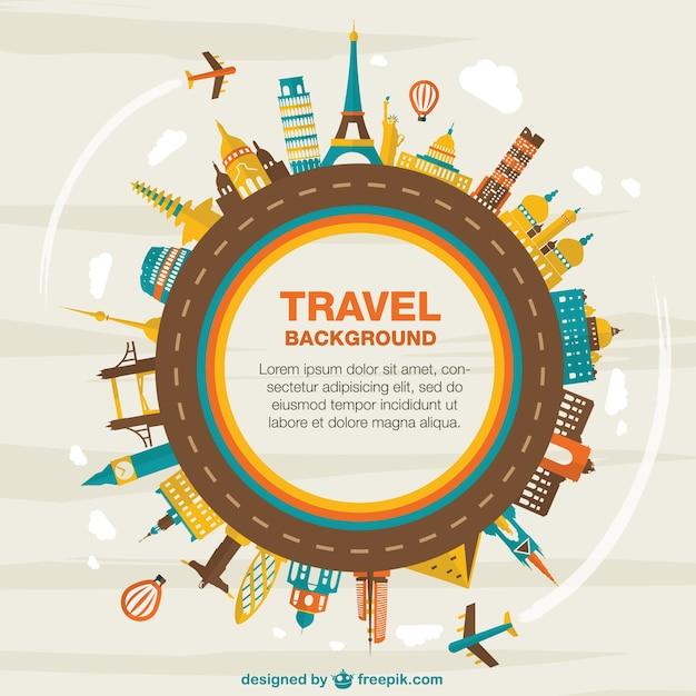 Turystyczna wektorowe Darmowych Wektorów