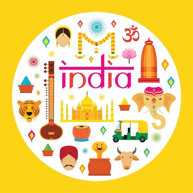 Turystyka I Kultura Tradycyjna Premium Wektorów