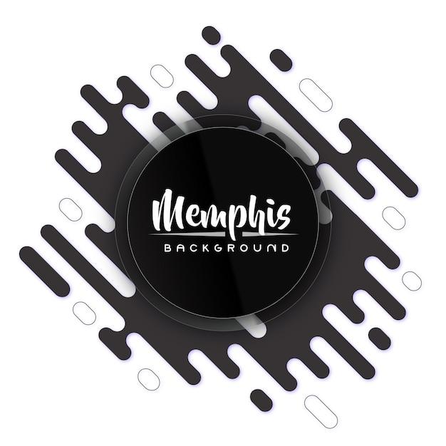 Twórczy Plecy I Białe Nowoczesne Tło Transparent Memphis Premium Wektorów
