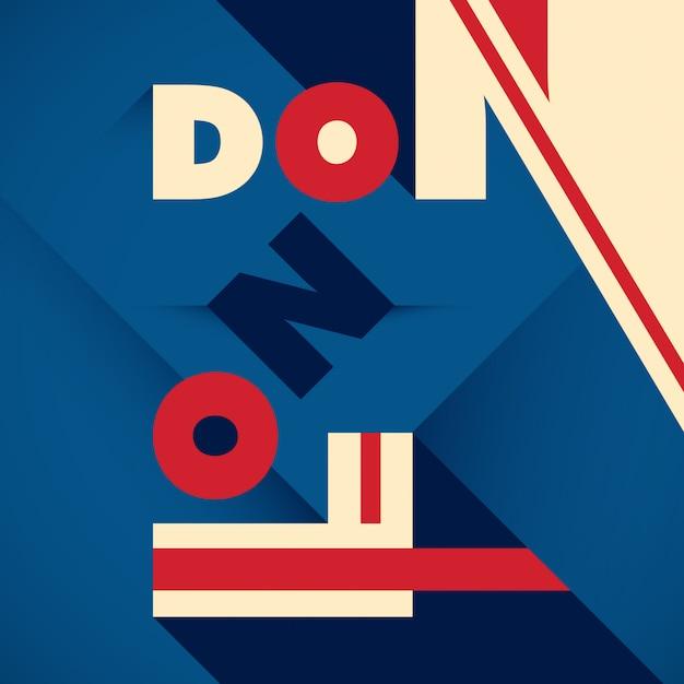 Typograficzne tło londyn Premium Wektorów