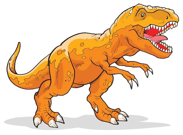 Tyrannosaurus Rex Dinosaur Premium Wektorów