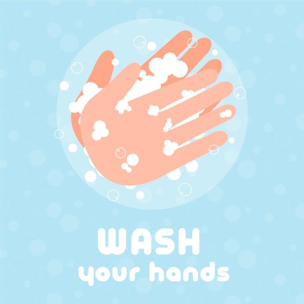 Umyj Ręce Darmowych Wektorów