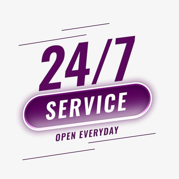 Usługi Otwarte Codzienne Tło Darmowych Wektorów