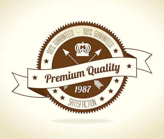 Vintage retro design. Premium Wektorów