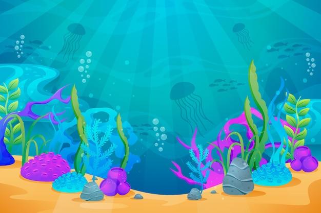 W Tle Morza Do Konferencji Darmowych Wektorów