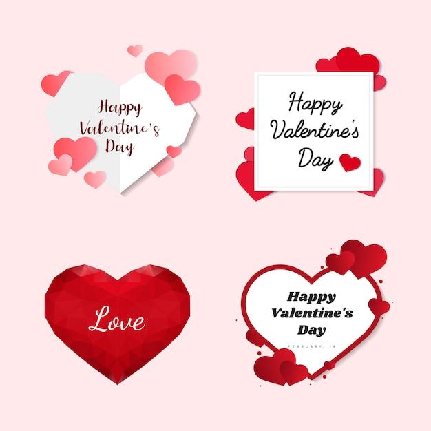 Walentynki 14 lutego wektor Darmowych Wektorów