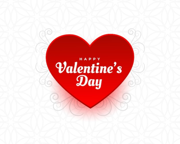 Walentynki Serce Tło Z Dekoracją Darmowych Wektorów