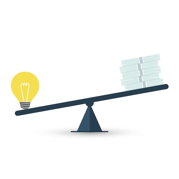 Wartość Pomysłu Premium Wektorów