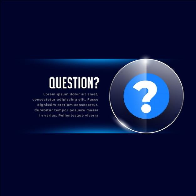 Web Helo I Szablon Wsparcia Ze Znakiem Zapytania Darmowych Wektorów